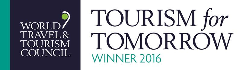Winner - Tourism for Tomorrow 2016